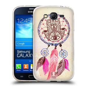Silikonové pouzdro na mobil Samsung Galaxy Grand Neo Plus HEAD CASE Lapač Assorted Hamsa