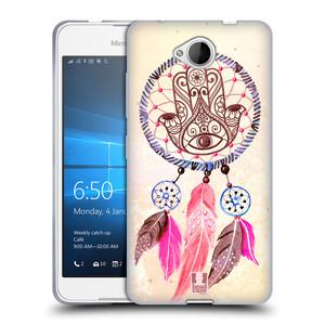 Silikonové pouzdro na mobil Microsoft Lumia 650 HEAD CASE Lapač Assorted Hamsa