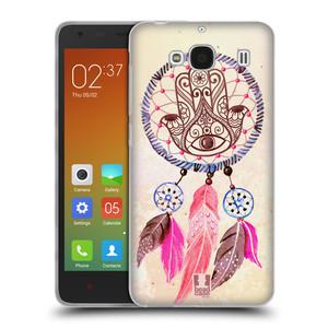 Silikonové pouzdro na mobil Xiaomi Redmi 2 HEAD CASE Lapač Assorted Hamsa