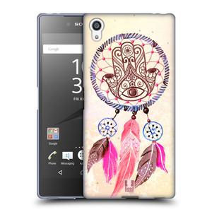 Silikonové pouzdro na mobil Sony Xperia Z5 Premium HEAD CASE Lapač Assorted Hamsa