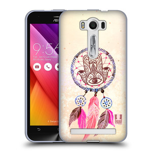 Silikonové pouzdro na mobil Asus ZenFone 2 Laser ZE500KL HEAD CASE Lapač Assorted Hamsa