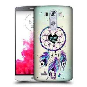 Plastové pouzdro na mobil LG G3 HEAD CASE Lapač Assorted Dream Big Srdce