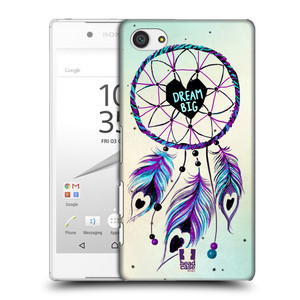 Plastové pouzdro na mobil Sony Xperia Z5 Compact HEAD CASE Lapač Assorted Dream Big Srdce