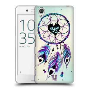 Plastové pouzdro na mobil Sony Xperia X Performance HEAD CASE Lapač Assorted Dream Big Srdce