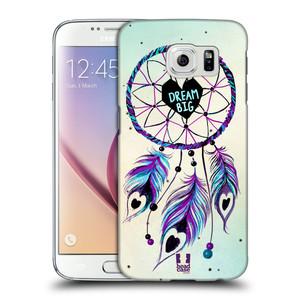Plastové pouzdro na mobil Samsung Galaxy S6 HEAD CASE Lapač Assorted Dream Big Srdce