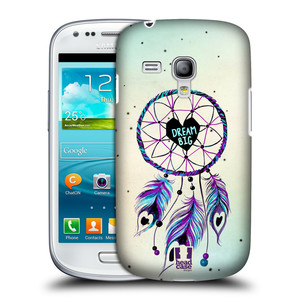 Plastové pouzdro na mobil Samsung Galaxy S III Mini HEAD CASE Lapač Assorted Dream Big Srdce