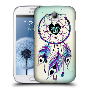 Plastové pouzdro na mobil Samsung Galaxy Grand Neo Plus HEAD CASE Lapač Assorted Dream Big Srdce