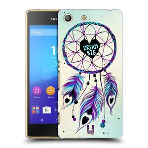 Plastové pouzdro na mobil Sony Xperia M5 HEAD CASE Lapač Assorted Dream Big Srdce