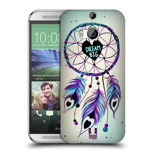 Plastové pouzdro na mobil HTC ONE M8 HEAD CASE Lapač Assorted Dream Big Srdce