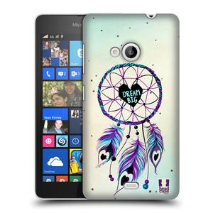 Plastové pouzdro na mobil Microsoft Lumia 535 HEAD CASE Lapač Assorted Dream Big Srdce