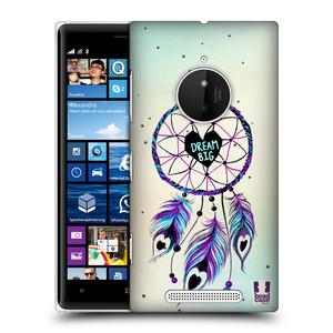 Plastové pouzdro na mobil Nokia Lumia 830 HEAD CASE Lapač Assorted Dream Big Srdce
