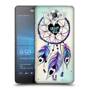 Plastové pouzdro na mobil Microsoft Lumia 950 HEAD CASE Lapač Assorted Dream Big Srdce