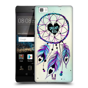 Plastové pouzdro na mobil Huawei P8 Lite HEAD CASE Lapač Assorted Dream Big Srdce