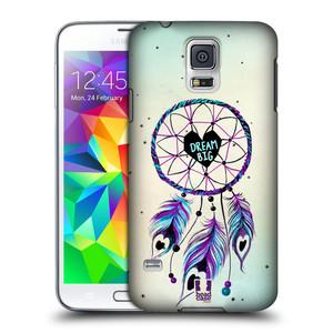 Plastové pouzdro na mobil Samsung Galaxy S5 HEAD CASE Lapač Assorted Dream Big Srdce