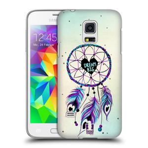 Plastové pouzdro na mobil Samsung Galaxy S5 Mini HEAD CASE Lapač Assorted Dream Big Srdce