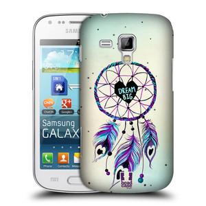 Plastové pouzdro na mobil Samsung Galaxy Trend HEAD CASE Lapač Assorted Dream Big Srdce