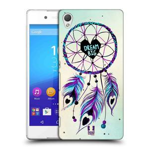 Plastové pouzdro na mobil Sony Xperia Z3+ (Plus) HEAD CASE Lapač Assorted Dream Big Srdce