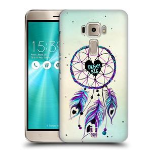 Plastové pouzdro na mobil Asus ZenFone 3 ZE520KL HEAD CASE Lapač Assorted Dream Big Srdce