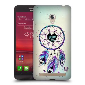 Plastové pouzdro na mobil Asus Zenfone 6 HEAD CASE Lapač Assorted Dream Big Srdce