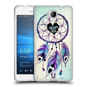 Silikonové pouzdro na mobil Microsoft Lumia 650 HEAD CASE Lapač Assorted Dream Big Srdce