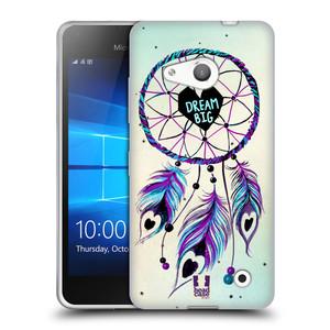 Silikonové pouzdro na mobil Microsoft Lumia 550 HEAD CASE Lapač Assorted Dream Big Srdce