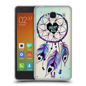 Silikonové pouzdro na mobil Xiaomi Redmi 2 HEAD CASE Lapač Assorted Dream Big Srdce