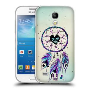 Silikonové pouzdro na mobil Samsung Galaxy S4 Mini HEAD CASE Lapač Assorted Dream Big Srdce