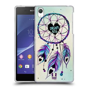 Silikonové pouzdro na mobil Sony Xperia Z2 D6503 HEAD CASE Lapač Assorted Dream Big Srdce