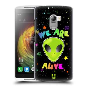 Plastové pouzdro na mobil Lenovo A7010 HEAD CASE ALIENS ALIVE