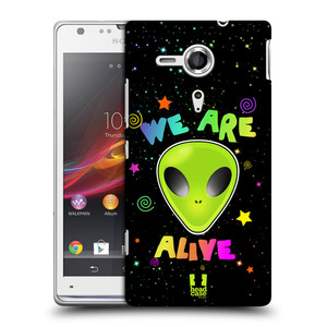 Plastové pouzdro na mobil Sony Xperia SP C5303 HEAD CASE ALIENS ALIVE