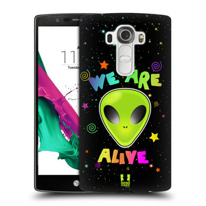 Plastové pouzdro na mobil LG G4 HEAD CASE ALIENS ALIVE