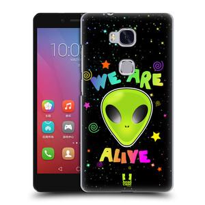 Plastové pouzdro na mobil Honor 5X HEAD CASE ALIENS ALIVE