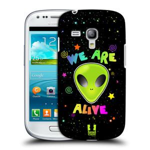Plastové pouzdro na mobil Samsung Galaxy S III Mini HEAD CASE ALIENS ALIVE