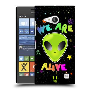 Plastové pouzdro na mobil Nokia Lumia 735 HEAD CASE ALIENS ALIVE
