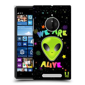 Plastové pouzdro na mobil Nokia Lumia 830 HEAD CASE ALIENS ALIVE