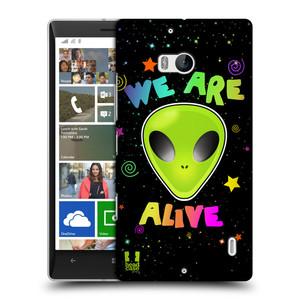 Pouzdro na mobil Nokia Lumia 930 HEAD CASE ALIENS ALIVE