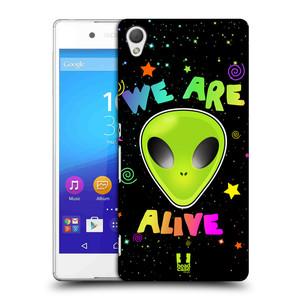 Plastové pouzdro na mobil Sony Xperia Z3+ (Plus) HEAD CASE ALIENS ALIVE