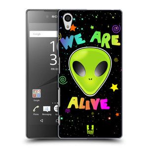 Plastové pouzdro na mobil Sony Xperia Z5 HEAD CASE ALIENS ALIVE
