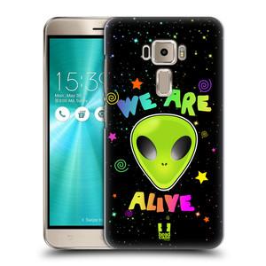 Plastové pouzdro na mobil Asus ZenFone 3 ZE520KL HEAD CASE ALIENS ALIVE