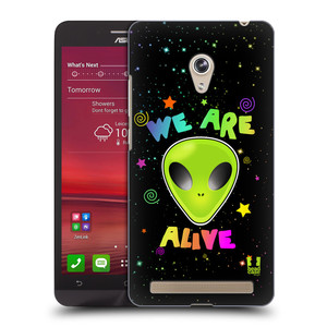Plastové pouzdro na mobil Asus Zenfone 6 HEAD CASE ALIENS ALIVE