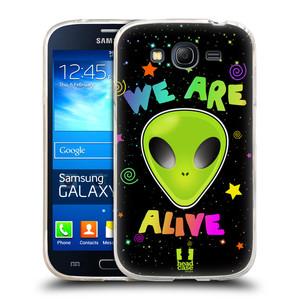 Silikonové pouzdro na mobil Samsung Galaxy Grand Neo Plus HEAD CASE ALIENS ALIVE