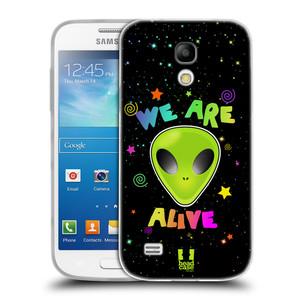 Silikonové pouzdro na mobil Samsung Galaxy S4 Mini HEAD CASE ALIENS ALIVE