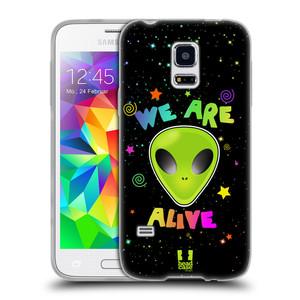 Silikonové pouzdro na mobil Samsung Galaxy S5 Mini HEAD CASE ALIENS ALIVE