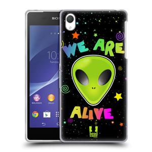 Silikonové pouzdro na mobil Sony Xperia Z2 D6503 HEAD CASE ALIENS ALIVE