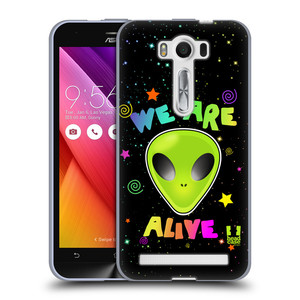 Silikonové pouzdro na mobil Asus ZenFone 2 Laser ZE500KL HEAD CASE ALIENS ALIVE