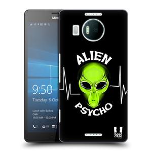 Plastové pouzdro na mobil Microsoft Lumia 950 XL HEAD CASE ALIENS PSYCHO