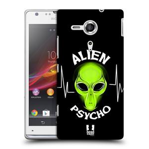 Plastové pouzdro na mobil Sony Xperia SP C5303 HEAD CASE ALIENS PSYCHO