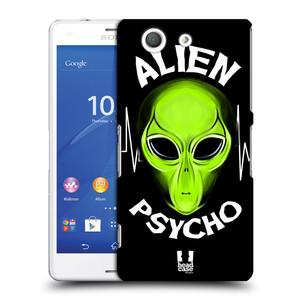 Plastové pouzdro na mobil Sony Xperia Z3 Compact D5803 HEAD CASE ALIENS PSYCHO