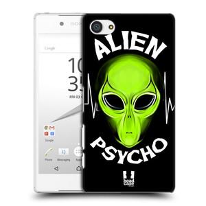 Plastové pouzdro na mobil Sony Xperia Z5 Compact HEAD CASE ALIENS PSYCHO