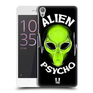Plastové pouzdro na mobil Sony Xperia E5 HEAD CASE ALIENS PSYCHO